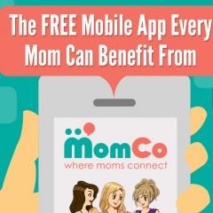 MomCo App Infographic