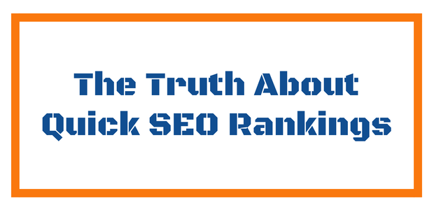 Fast SEO Results The Truth About Quick SEO Rankings