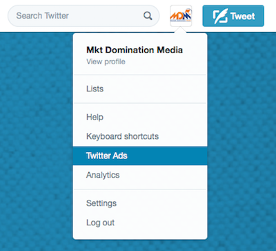 how to start twitter ads