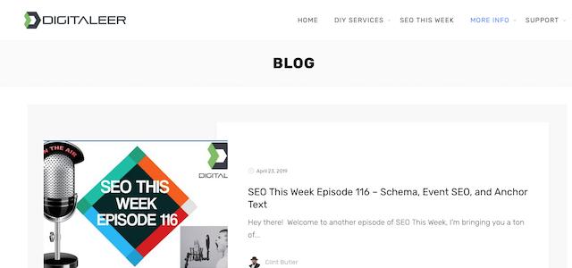 Digitaleer SEO blog
