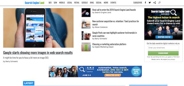 Search Engine Land SEO blog